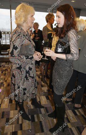 Camilla Duchess of Cornwall and Hayley Westenra