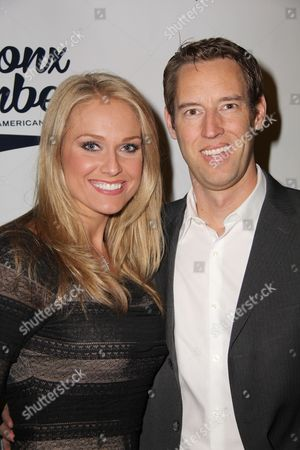 Heidi Watney and guest