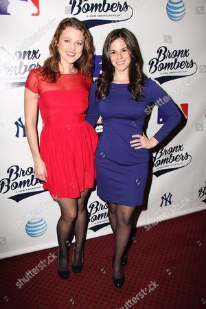 Editorial image of 'Bronx Bombers' play Broadway opening night, New York, America - 06 Feb 2014