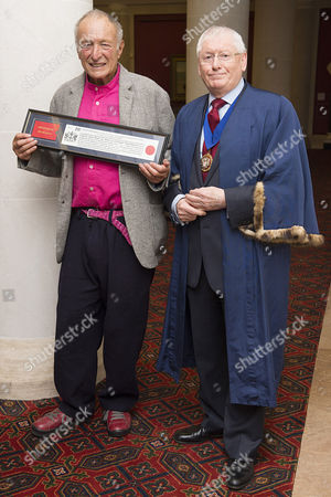 Lord Richard Rogers and George M F Gillion (Chief Commoner)