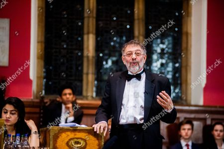 Editorial picture of 'This House believes Putin has been Good for Russia' debate at The Oxford Union, Britain - 06 Feb 2014