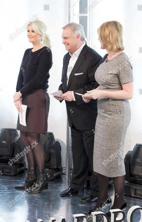 Lisa Fitzpatrick with Eamonn Holmes and Ruth Langsford