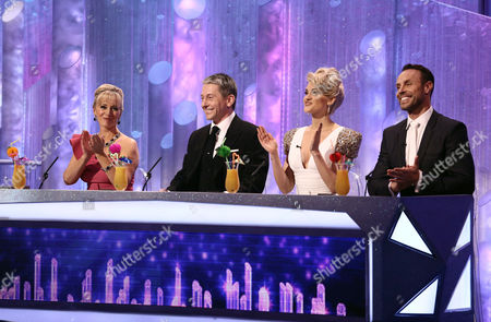 Judges - Karen Barber, Nicky Slater, Ashley Roberts and Jason Gardiner