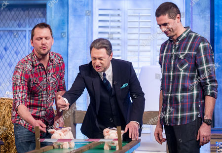 Graeme Moon, Alan Titchmarsh, Jimmy Doherty and Andy Collins