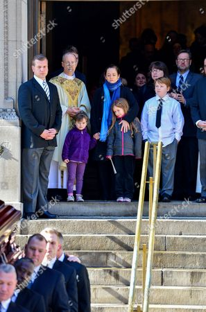 Editorial photo of Philip Seymour Hoffman funeral, New York, America - 07 Feb 2014