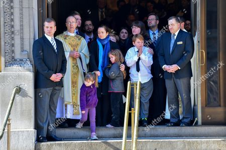 Editorial image of Philip Seymour Hoffman funeral, New York, America - 07 Feb 2014