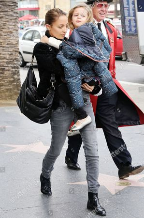 Nicole Richie and daughter Harlow Madden