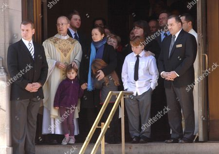 Editorial picture of Philip Seymour Hoffman funeral, New York, America - 07 Feb 2014