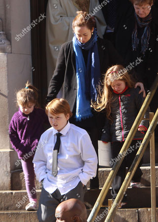 Mimi O'Donnell, Tallulah Hoffman, Cooper Hoffman and Willa Hoffman