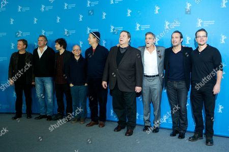 Matt Damon, Jean Dujardin, George Clooney, John Goodman, Bill Murray, Bob Balaban, Dimitri Leonidas, Hugh Bonneville, Justus von Dohnanyi