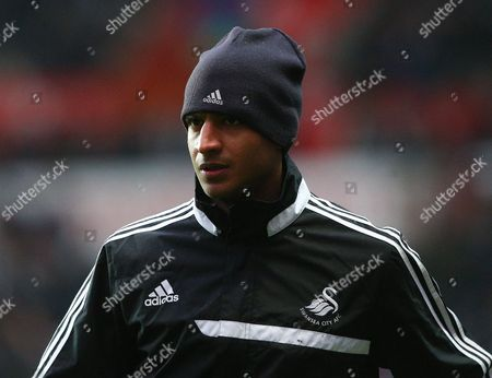 Stock Image of David N'Gog of Swansea City
