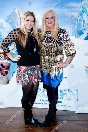 Vanessa Feltz and her daughter Saskia Kurer