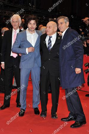 Robert M. Edsel, Dimitri Leonidas, George Clooney