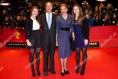 John B Emerson, Kimberly Marteau Emerson and daughters