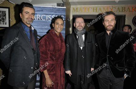 Oscar Guardiola-Rivera, Fernando Montano, Kevin O'Hare & Giorgio Madia