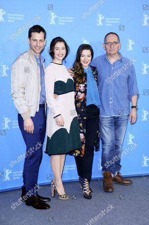 Florian Stetter, Henriette Confurius, Hannah Herzsprung and director Dominik Graf