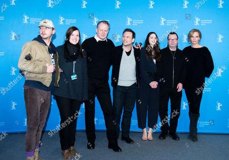 Stock Photo of Shia LaBeouf, Louise Vesth, Stellan Skarsgard, Christian Slater, Stacy Martin, Lars Von Trier and Uma Thurman