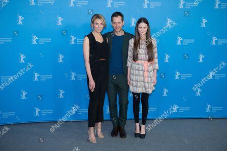 Franziska Weisz, Florian Stetter and Lea van Acken