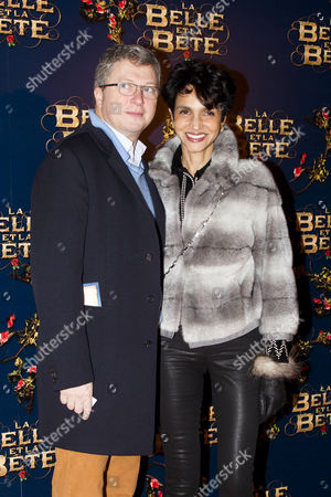 Henri Seydoux and Farida Khelfa