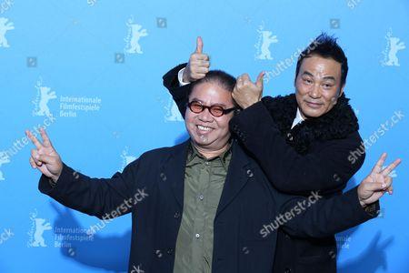 Simon Yam and director Fruit Chan