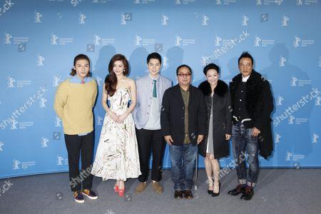 Janice Man, Kara Hui, Simon Yam and Fruit Chan