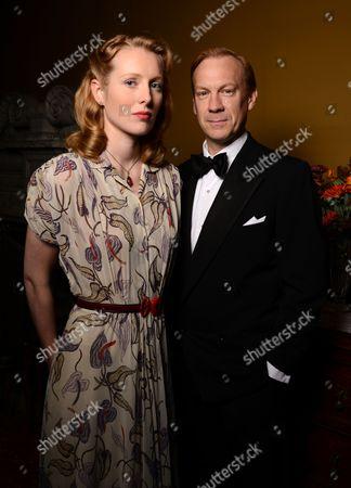 Alice Orr-Ewing and Shaun Dingwall