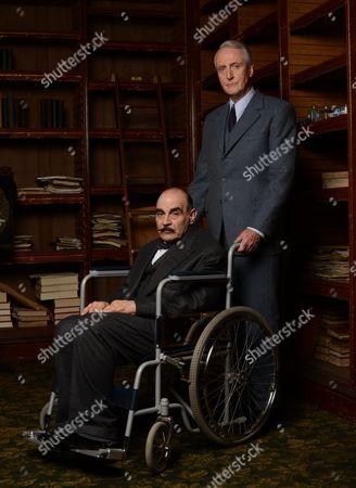 David Suchet and Hugh Fraser