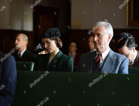 Helen Baxendale and Hugh Fraser