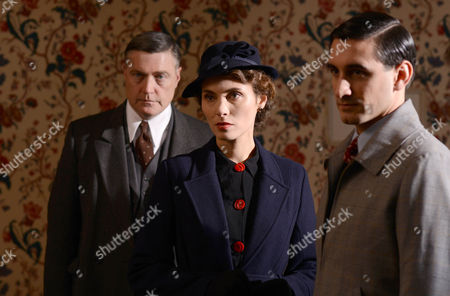 Vincent Regan as Chief Sup. Beale, Annabel Mullion as Lady Ravenscroft and Ferdinand Kingsley as Desmond.