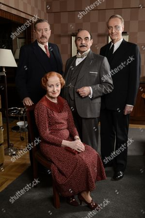 Editorial photo of 'Poirot' The Big Four, TV Programme. - 23 Oct 2013
