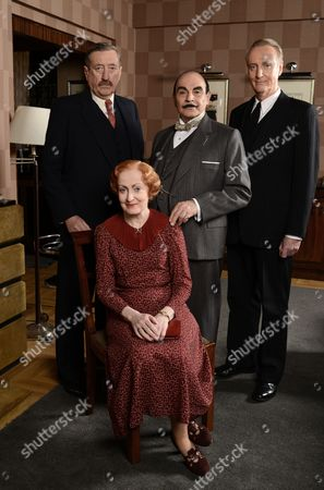 Editorial image of 'Poirot' The Big Four, TV Programme. - 23 Oct 2013