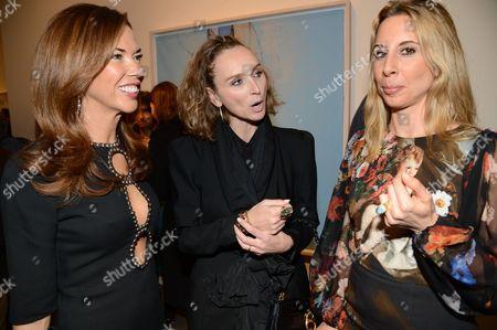 Heather Kerzner, Jo Manoukian and Hayley Sieff