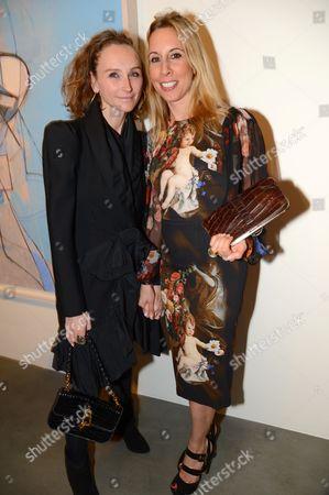 Jo Manoukian and Hayley Sieff