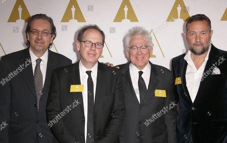 Bob Nelson, Albert Berger, Ron Yerxa and Phedon Papamichael