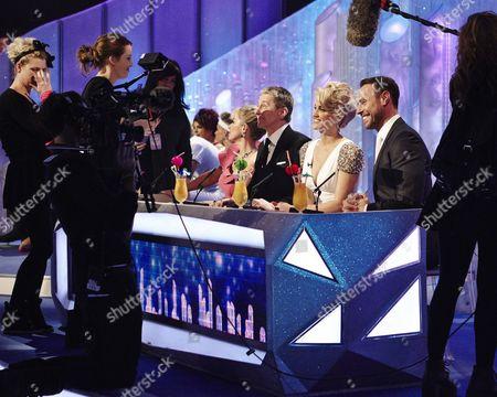 Behind the scenes : Judges ; Karen Barber, Nicky Slater, Ashley Roberts and Jason Gardiner