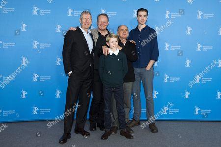 Stock Picture of Hans Petter Moland, Jack Moland, Stellan Skarsgard, Bruno Ganz and Pal Sverre Hagen