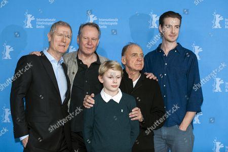 Stock Image of Hans Petter Moland, Jack Moland, Stellan Skarsgard, Bruno Ganz and Pal Sverre Hagen