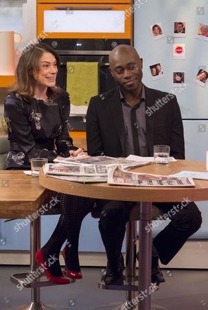 Editorial image of 'Lorraine Live' TV Programme, London, Britain - 11 Feb 2014