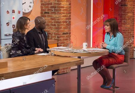 Editorial picture of 'Lorraine Live' TV Programme, London, Britain - 11 Feb 2014