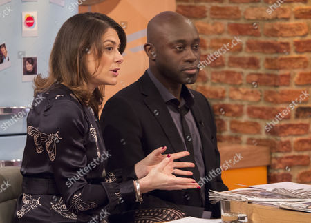 Stock Picture of Katie Nicholl and Henry Bonsu