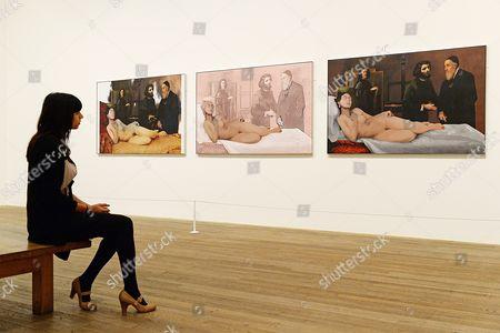 Untitled work (2011)  by artist Richard Hamilton