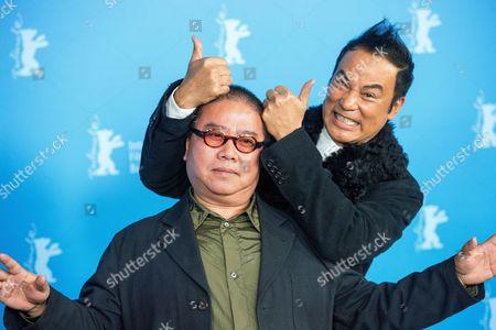 Fruit Chan and Simon Yam