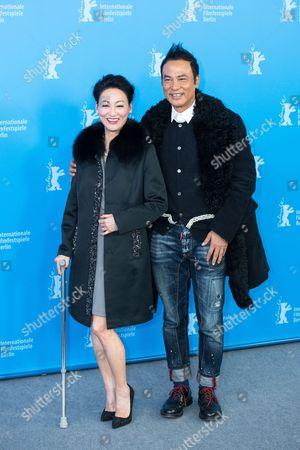 Kara Hui and Simon Yam