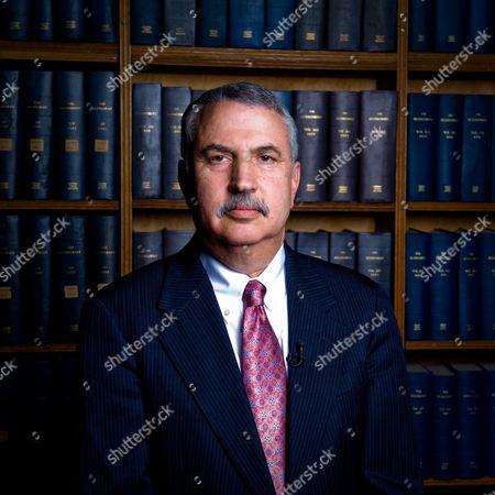 Stock Photo of Tom Friedman, New York Times columnist