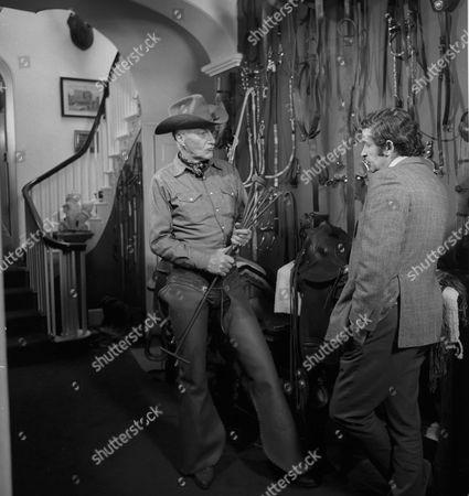 Dave Allen with John Bradbury [Cowboy Preacher] Aston Under Lyne