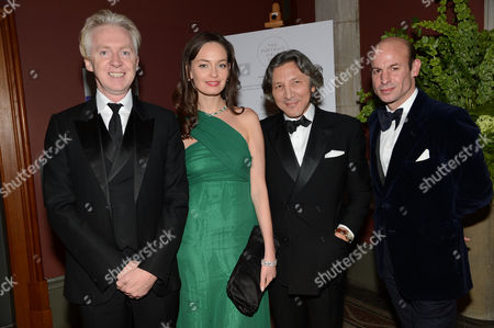 Philip Treacy, Yana Max, Leon Max and Stefan Bartlett