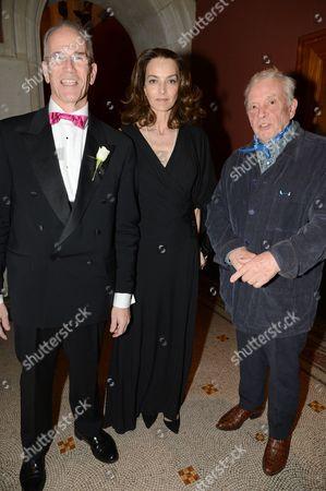 Sandy Nairne, Catherine Bailey and David Bailey