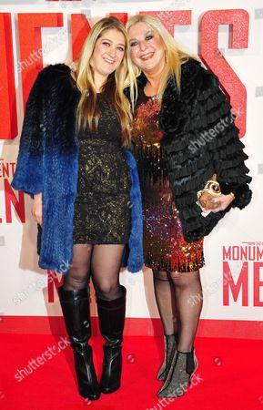Vanessa Feltz and daughter Saskia Kurer