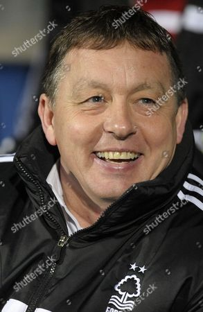 Manager Billy Davies of Nottingham Forest