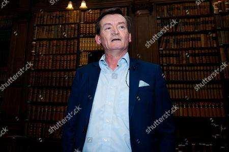 Editorial photo of Feargal Sharkey at Oxford Union, Oxford University, Britain - 11 Feb 2014